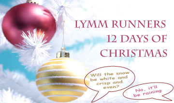 Lymm Runners 12 Days of Christmas