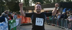 High Legh 10K Race finisher