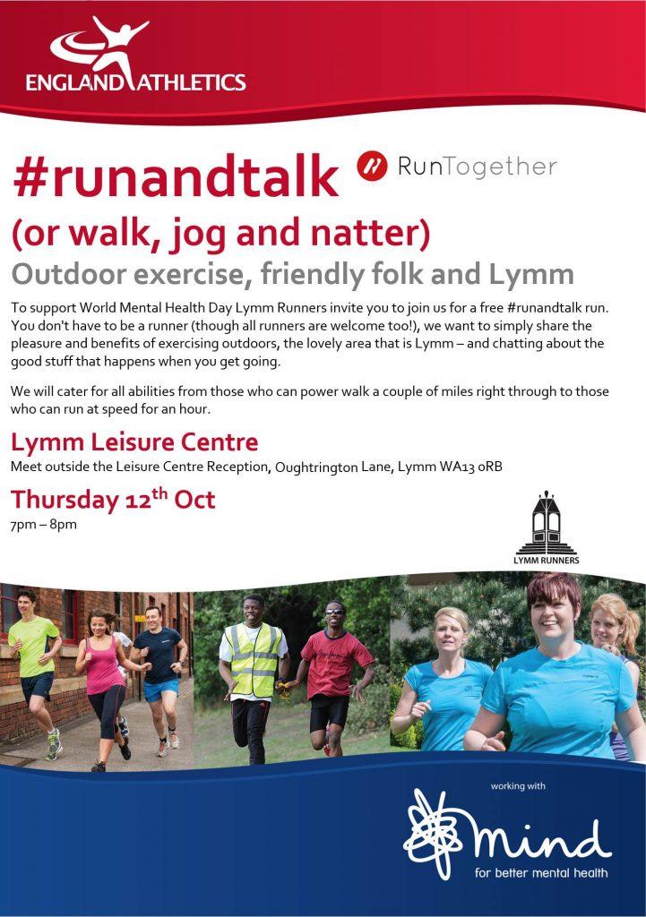 #runandtalk Lymm Runners