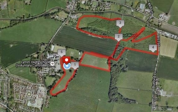 Lymm Trail Races - Routes