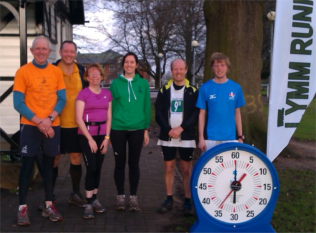 First Lymm Runners Event of 2013