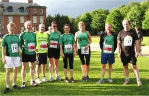 Lymm Runners at Dunham 5K 2013