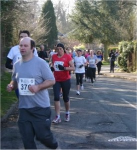 Participants in the High Legh 10K 2013