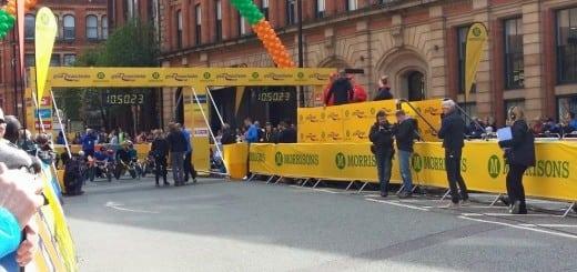 Manchester 10K Start Line